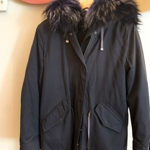 Extra Warm (Perfect for winter) Real Fur Parka